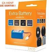Batterie aspirateur Zaco de remplacement