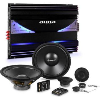 Auna Cs-Comp-10 Set Complet Hifi Tuning Voitu