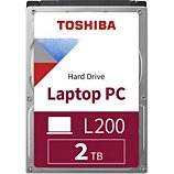 Disque dur interne Toshiba  2.5'' 2To L200 Gris