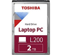 Disque dur interne Toshiba Interne 2To L200 Gris