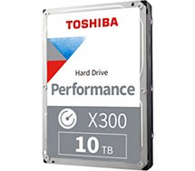 Disque dur interne Toshiba  3.5'' 10To X300