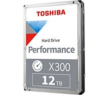Disque dur interne Toshiba  3.5'' 12To X300