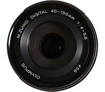 Objectif pour Hybride Olympus 40-150mm R f/4.0-5.6 noir M.Zuiko