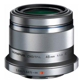 Olympus 45mm f/1.8 silver M.Zuiko