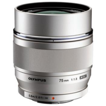 Olympus 75mm f/1.8 ED Silver M.Zuiko Digital