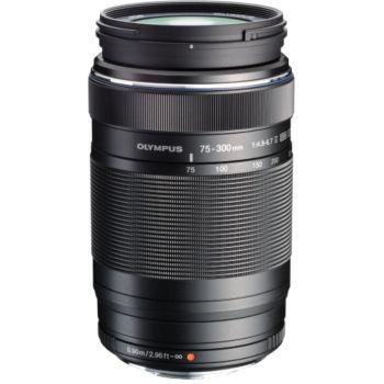 Olympus 75-300mm f/4.8-6.7 II noir M.Zuiko