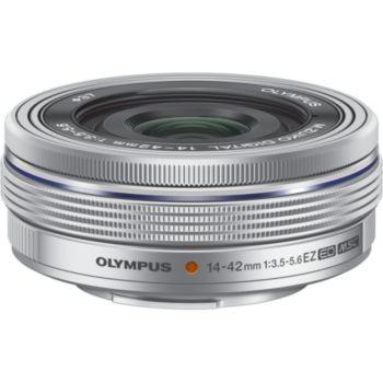 Olympus 14-42mm f/3.5-5.6 EZ silver Pancake