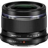 Objectif pour Hybride Olympus 25mm 1:1.8 noir M.Zuiko Digital