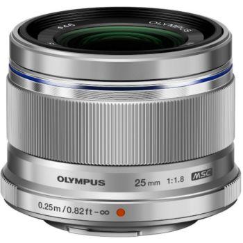 Olympus 25mm f/1.8 silver M.Zuiko