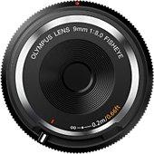 Objectif pour Hybride Olympus 9mm f/8 fisheye Noir