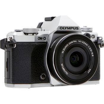 Olympus OM-D E-M5 Mark II Silver + 14-42mm EZ