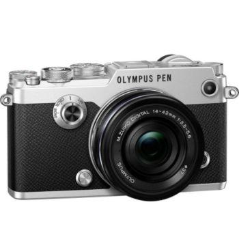 Olympus PEN-F Silver + 14-42mm EZ