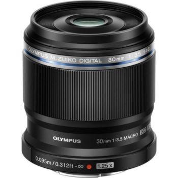 Olympus 30mm f/3.5 Macro ED noir M.Zuiko