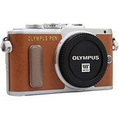 Appareil photo Hybride Olympus Pen E-PL8 Nu Marron