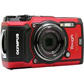 Appareil photo Compact Olympus Tough TG-5 rouge