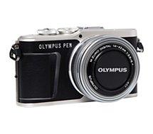 Appareil photo Hybride Olympus  Pen E-PL9 Noir + EZ-M14-42mm EZ Silver