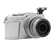 Appareil photo Hybride Olympus  Pen E-PL9 Blanc + EZ-M14-42mm EZ Silver