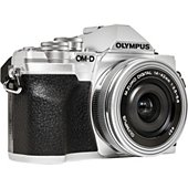 Appareil photo Hybride Olympus E-M10 Mark IV + Pancake 14-42mm Silver