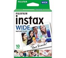 Papier photo instantané Fujifilm  Film Instax Wide 10 poses
