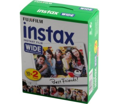Papier photo instantané Fujifilm Film Instax Wide 20 poses