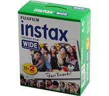 Papier photo instantané Fujifilm  FUJIFILM Film Instax Wide (x20)