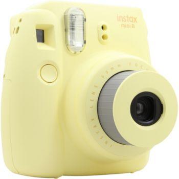 Fuji instax mini 8 jaune appareil photo compact boulanger - Appareil photo compact boulanger ...