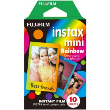 Fujifilm Film Instax Mini Rainbow (x10)