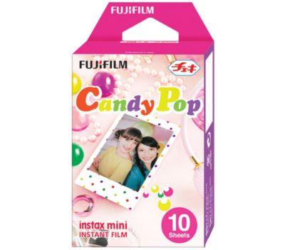 Papier photo instantané Fujifilm Film Instax Mini Candy Pop (x10)