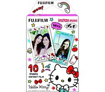 Papier photo instantané Fuji Film Instax Mini Hello Kitty 2 (x10)