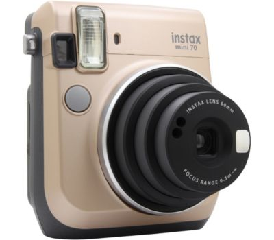 Appareil photo Instantané Fujifilm Instax Mini 70 doré