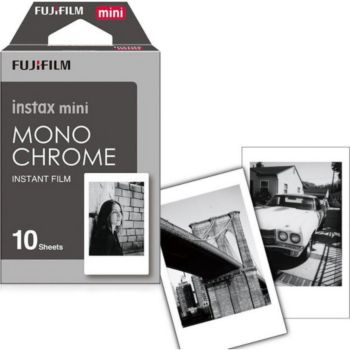 Fujifilm Film Instax Mini Monochrome (x10)