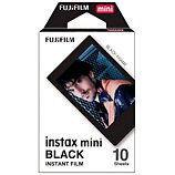 Papier photo instantané Fujifilm  Instax Mini cadre noir (x10)