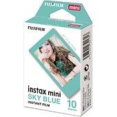 Papier photo instantané Fujifilm Film Instax Mini cadre bleu (x10)