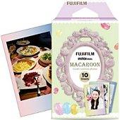 Papier photo instantané Fujifilm Film Instax Mini Macaron (x10)