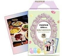 Papier photo instantané Fujifilm  Instax Mini Macaron (x10)