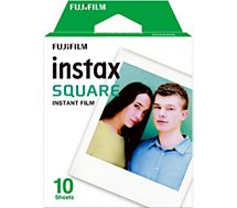 Papier photo instantané Fujifilm  Film Instax Square (x10)