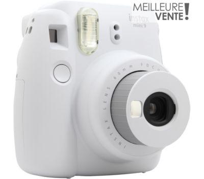 Appareil photo Instantané Fujifilm Instax Mini 9 Blanc cendré