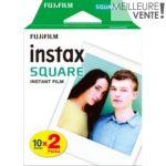 Papier photo instantané Fujifilm Instax Square (x10) x2