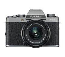 Appareil photo Hybride Fujifilm X-T100 Dark Silver + XC15-45mm PZ