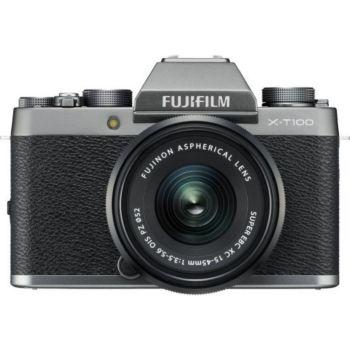 Fujifilm X-T100 Dark Silver + XC15-45mm PZ