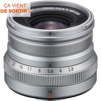 Fujifilm XF16mm F2.8 R WR Silver