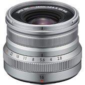Objectif pour Hybride Fujifilm XF16mm F2.8 R WR Silver