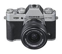 Appareil photo Hybride Fujifilm  X-T30 Silver + XC15-45mm PZ