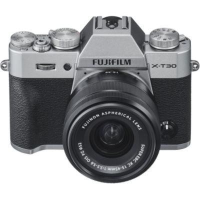 Location Appareil photo Hybride Fujifilm X-T30 Silver + XC15-45mm PZ