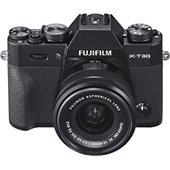 Appareil photo Hybride Fujifilm X-T30 Noir + XC15-45mm PZ