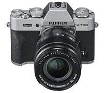 Appareil photo Hybride Fujifilm  X-T30 Silver + XF 18-55mm