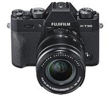 Appareil photo Hybride Fujifilm  X-T30 Noir + XF 18-55mm