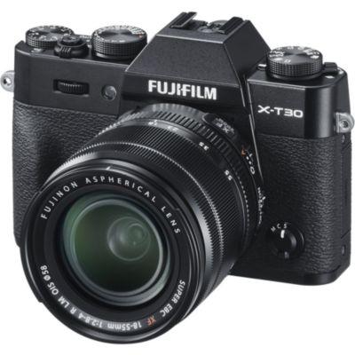 Location Appareil photo Hybride Fujifilm X-T30 Noir + XF 18-55mm