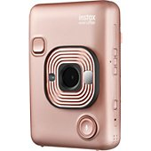 Appareil photo Instantané Fujifilm Mini LiPlay Rose Doré