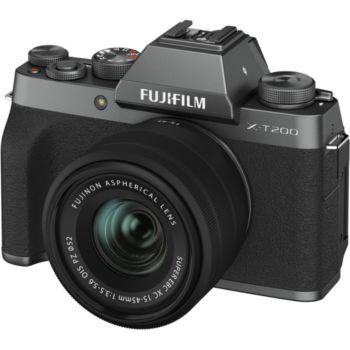 Fujifilm X-T200 Dark Silver + XC15-45mm
